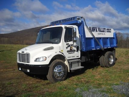 hawk valley dump truck