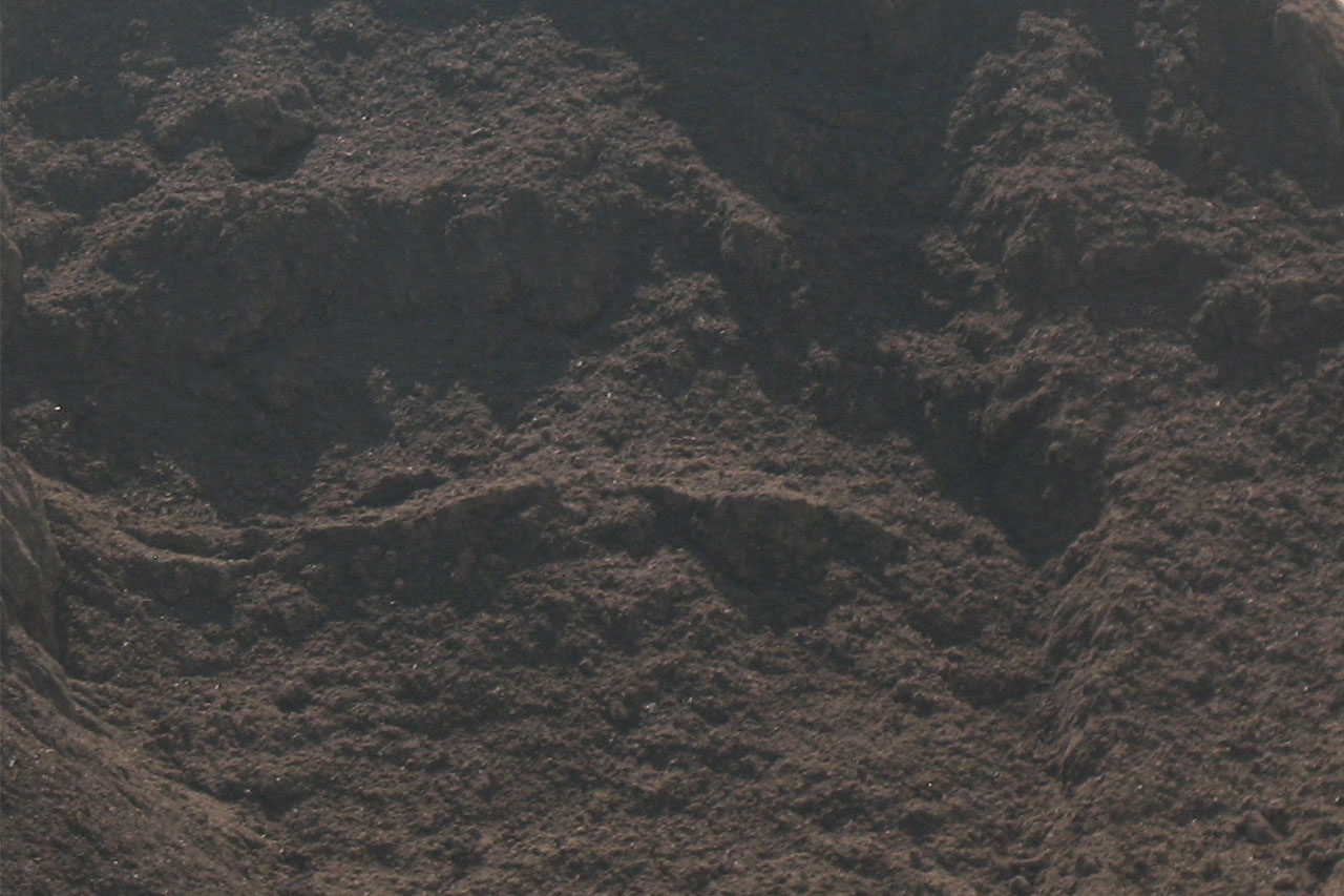 brown soil